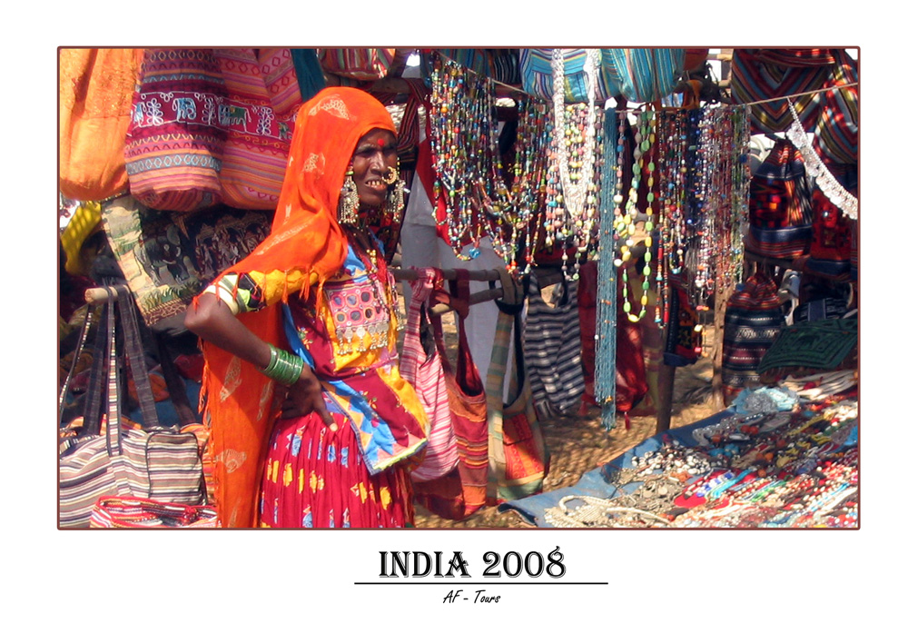 Markttag in Anjuna