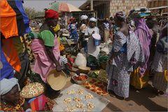 markttag in bandiagara