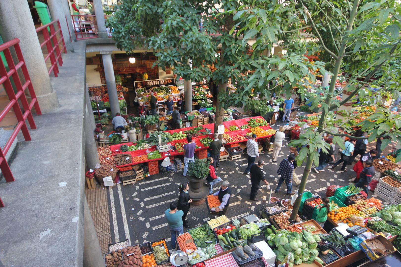 Markttag in Funchal (Madeira)