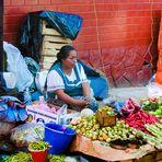 Markttag in Mexico
