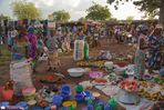 Markttag, irgendwo im Norden Ghanas