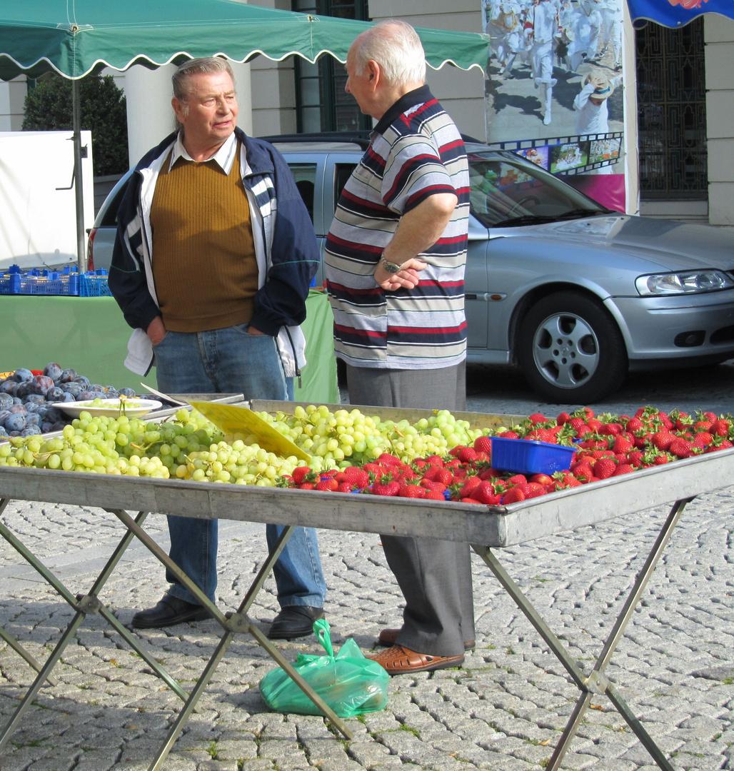 """Markttag , """"lange nicht gesehen"""""""