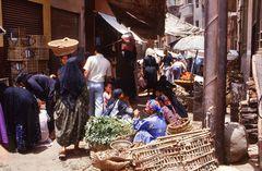 Markttreiben in der Oase Fayum