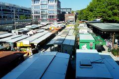 """""""Marktüberblick"""" - Wochenmarkt in Hamburg-Langenhorn"""