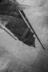 Markus Platz im Regen