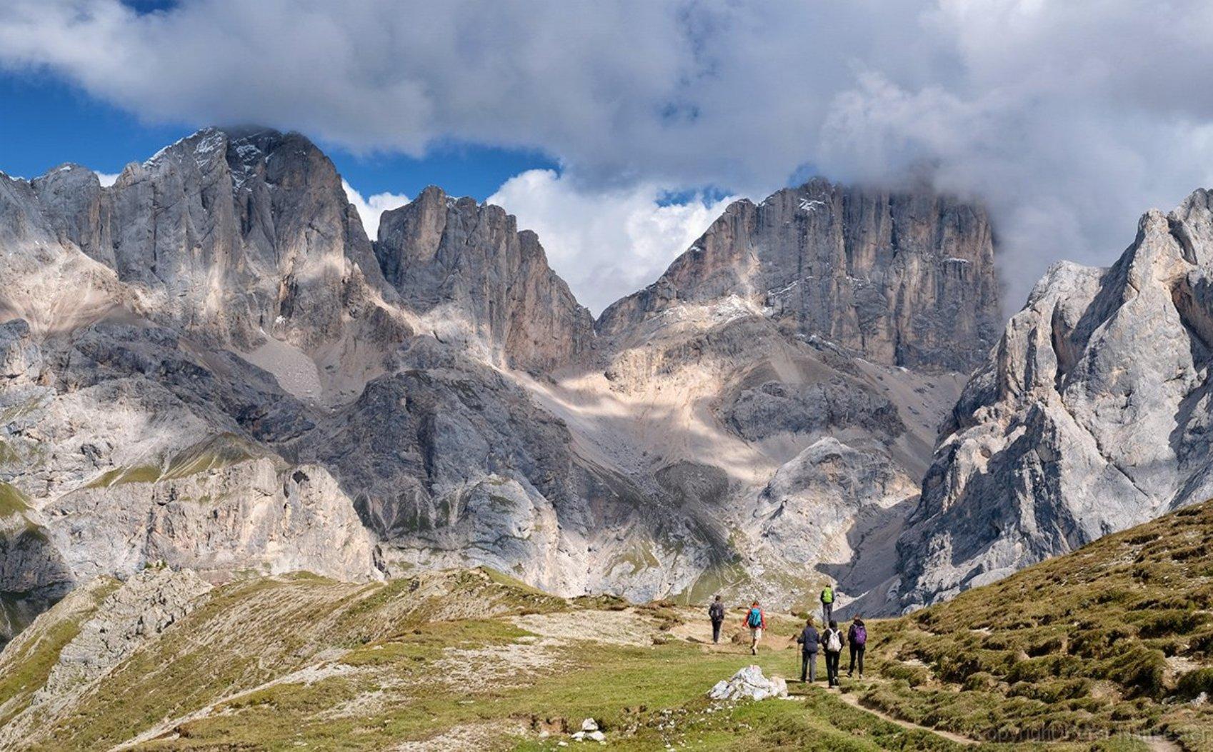 Marmolada  - Südwand