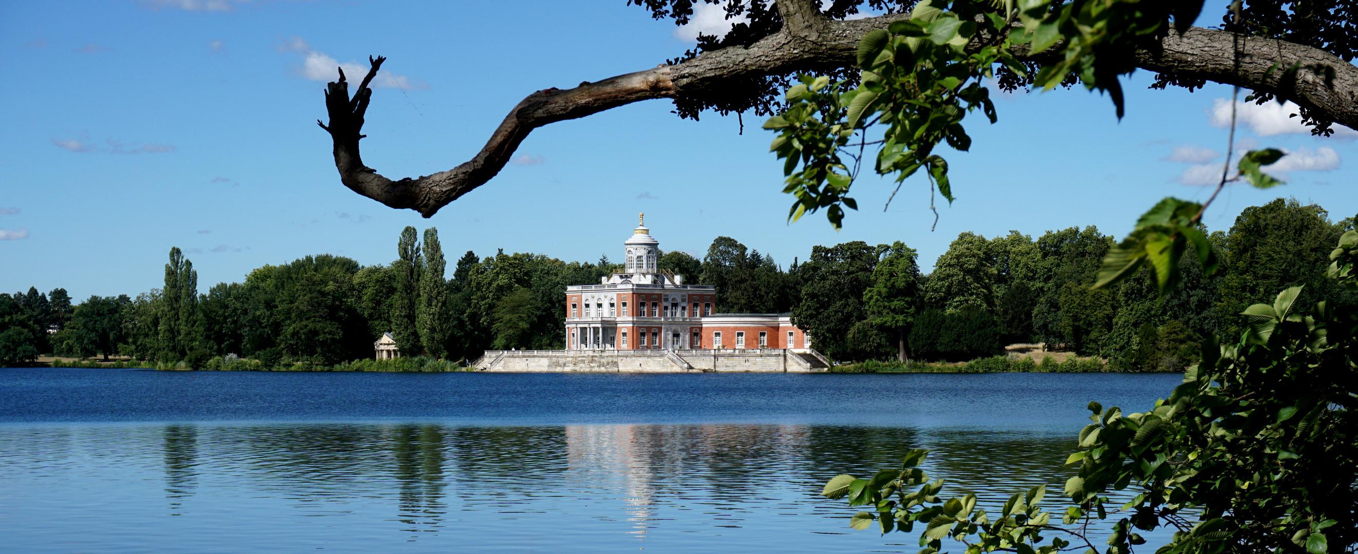Marmorpalais Potsdam in Neuen Garten