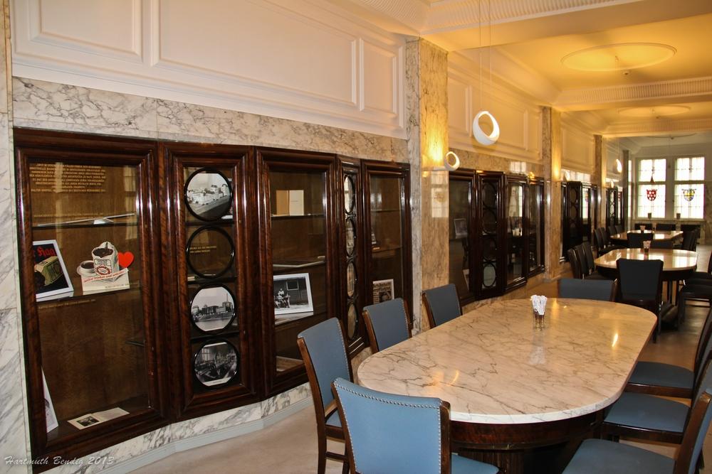 Marmorsaal von Kaffee HAG