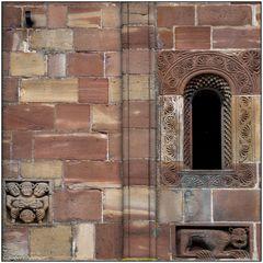 Marmoutier - Wesfassade Detail