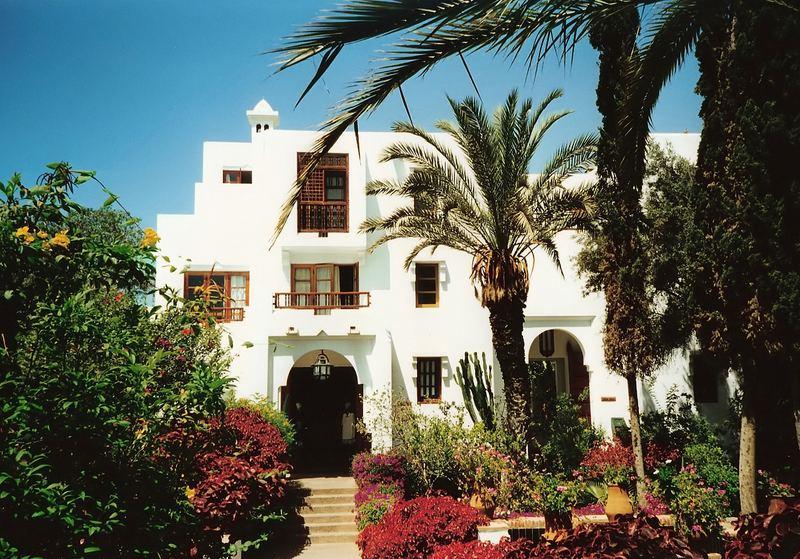 Maroccanisches Bungalow an der Atlantikküste