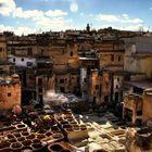 Marocco, Fes, Gerberei
