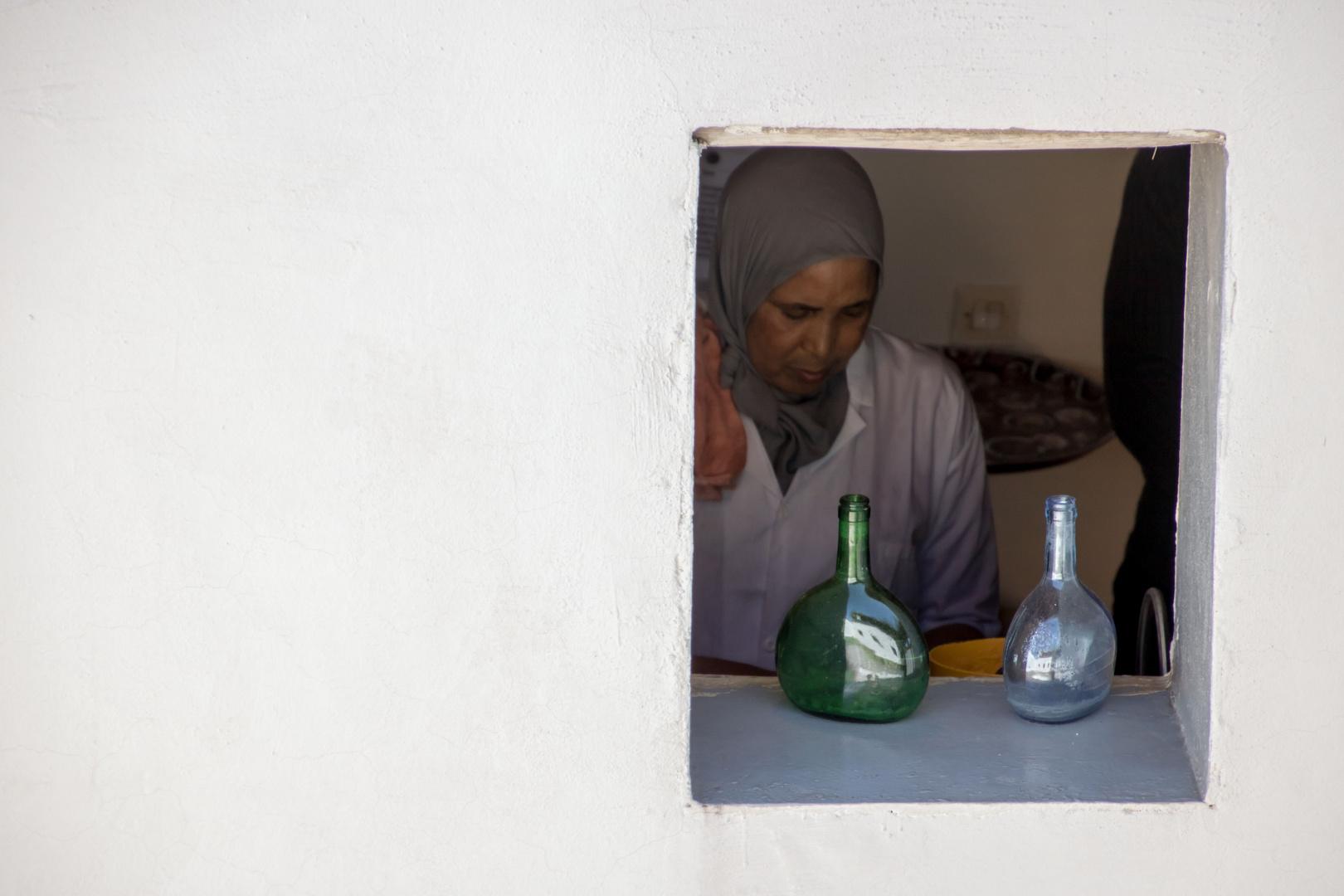 Marocco The Woman in The Window
