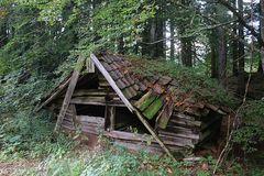Marode Schutzhaus