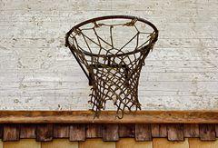 Maroder Basketballkorb, ...