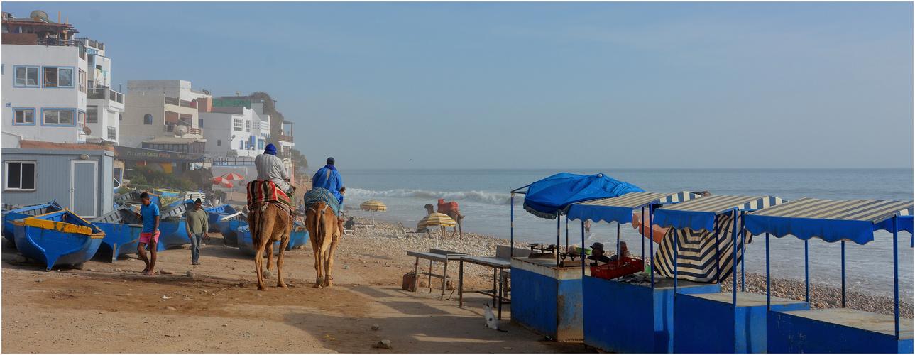 Marokkanisches Strandleben IV