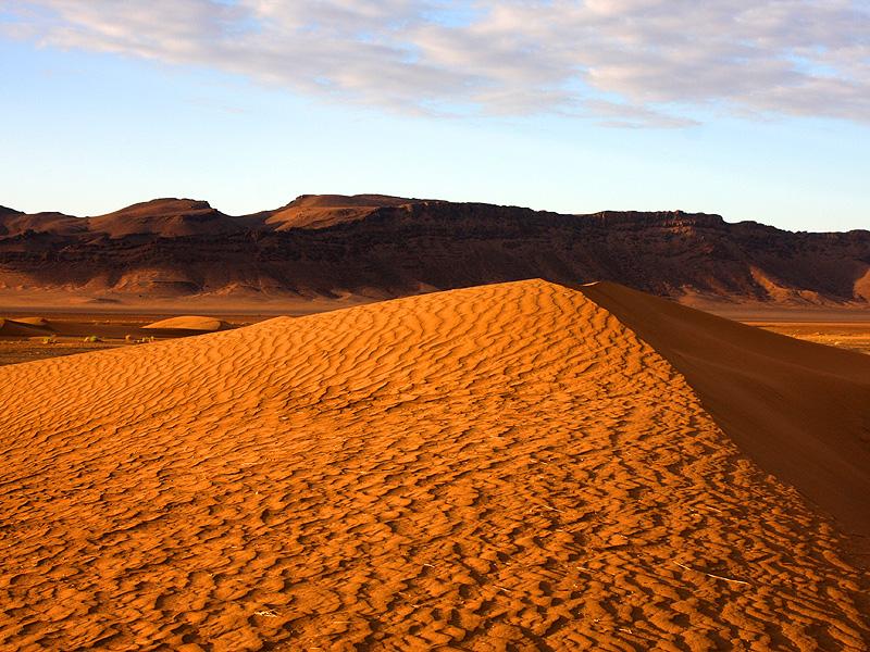 Marokko 19: Wüstenlandschaft bei Zagora