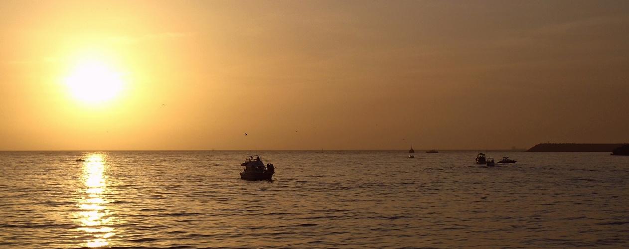 Marokko - 9 Agadir - Sunset