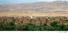 Marokko auf der Straße der Kasbahs Bild 03
