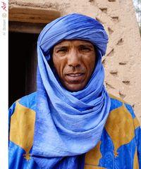 Marokko Berber in traditioneller Kleidung 07
