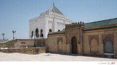 Marokko: Rabat Mausoleum von Mohammet V. Bild 17