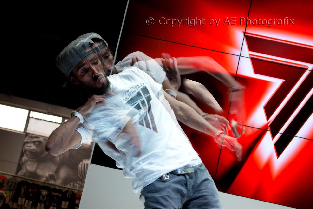 Marques Scott Dubstep Dancer - Fibo 2014