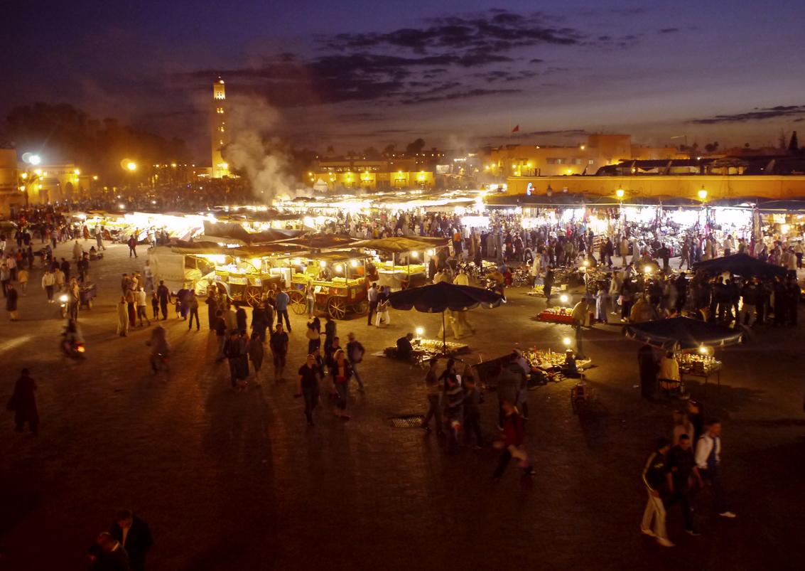 Marrakech 04/2011 - Djemaa el Fna