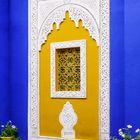 "Marrakech 04/2011: Gebäudewand im ""Jardin Majorelle"""