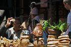 Marrakech - lunchtime im Souk