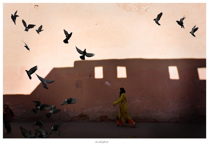 Marrakech, street scene