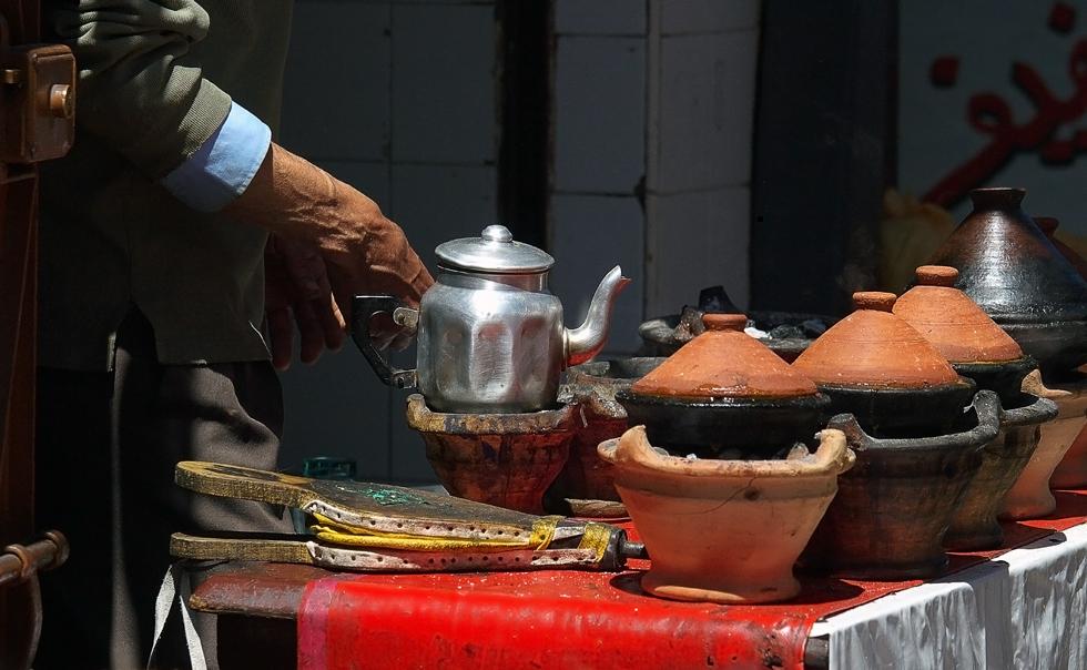 Marrakech - Tee und Tagine