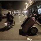 Marrakesch, die sympathische quirlige 'Gourmet-Meile' auf der Rue Bab Taghzout