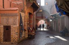 Marrakesch/Medina (Altstadt)