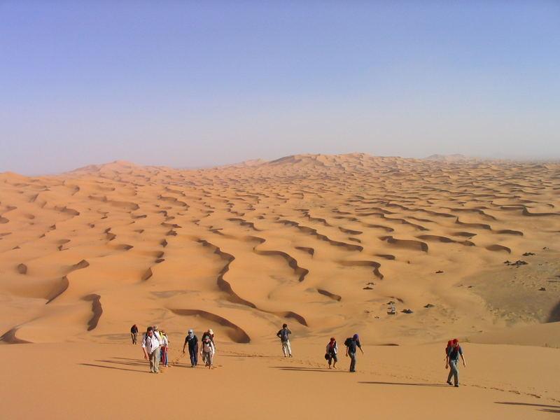 Marrokanische Wüste