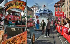 Mars-Taxi am Grazer Hauptplatz!