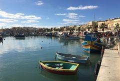 Marsaxlokk - der Hafen