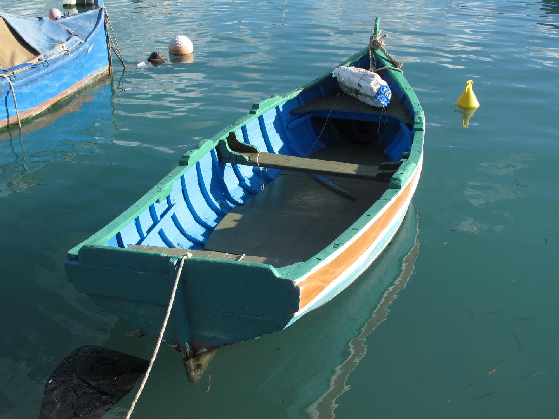 Marsaxlokk Hafen Fischerboot