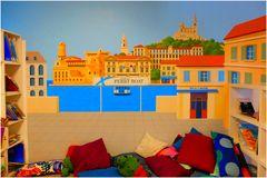 Marseille au mur