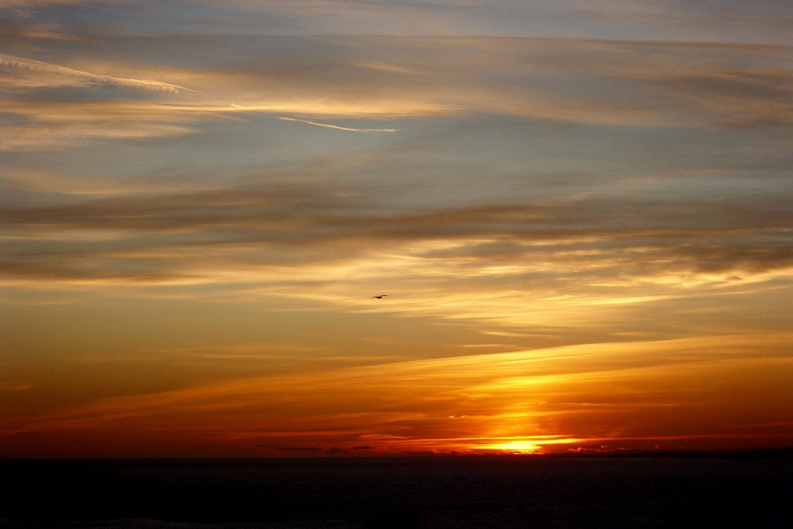 Marseille bei Sonnenuntergang