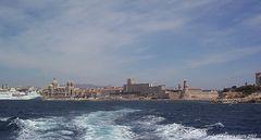Marseille - Cathédrale de la Major et Fort Saint-Jean