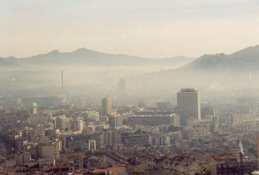 Marseille im Morgendunst