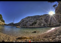 Marseille, la calanque de Morgiou