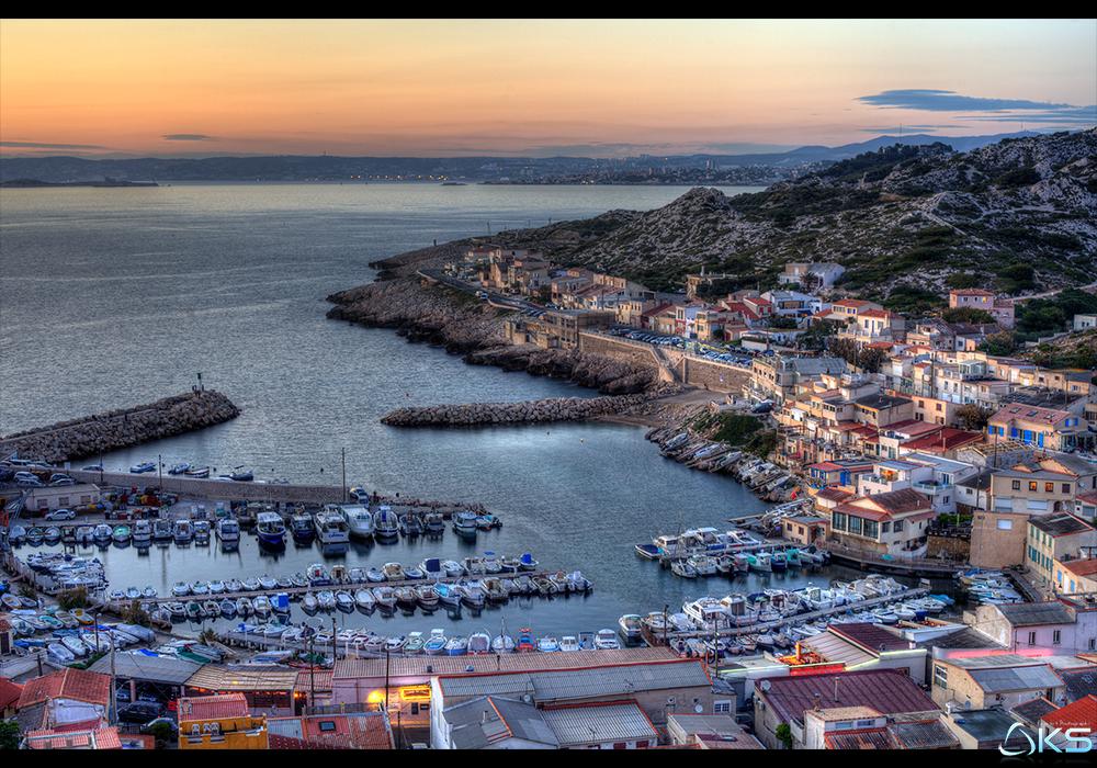 Marseille, les goudes