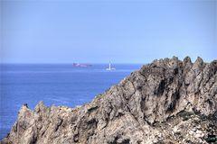 Marseille, l'île Maïre et le phare du Planier