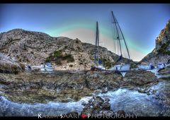 Marseille, photographie de la calanque de Morgiou