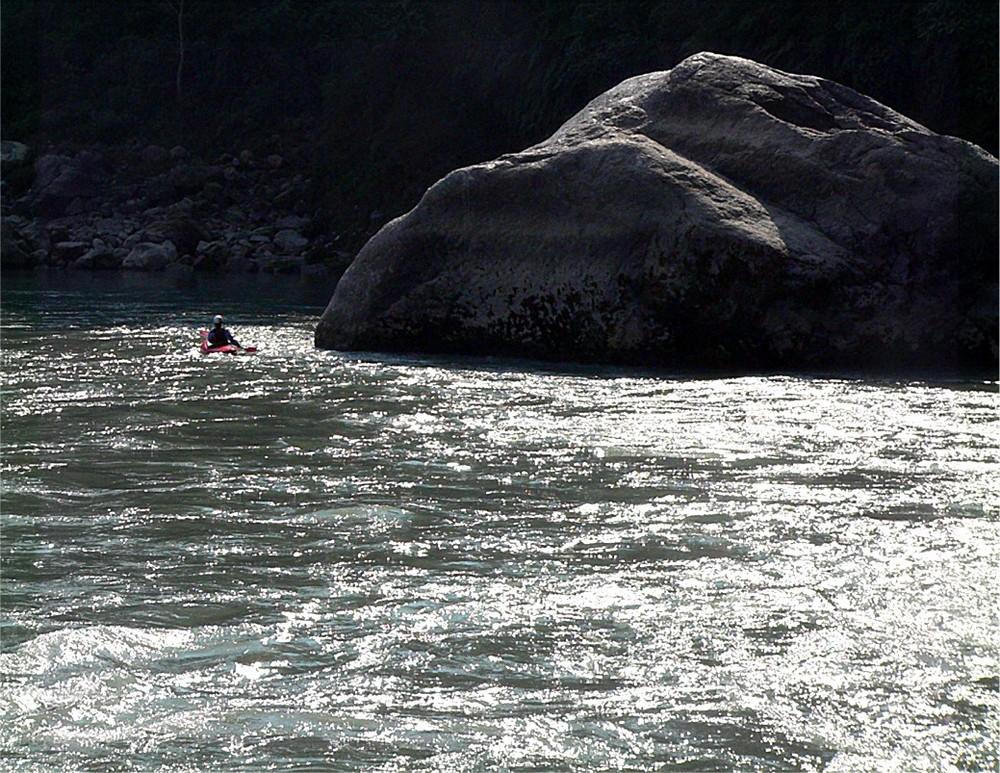 Marsiandi a world-class Rivergod of Nepal is dying
