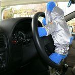 Marsli lernt Autofahren...