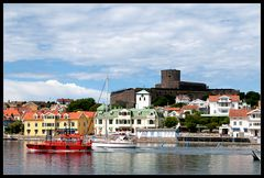 Marstrand - Blick auf die Insel Marstrandsö