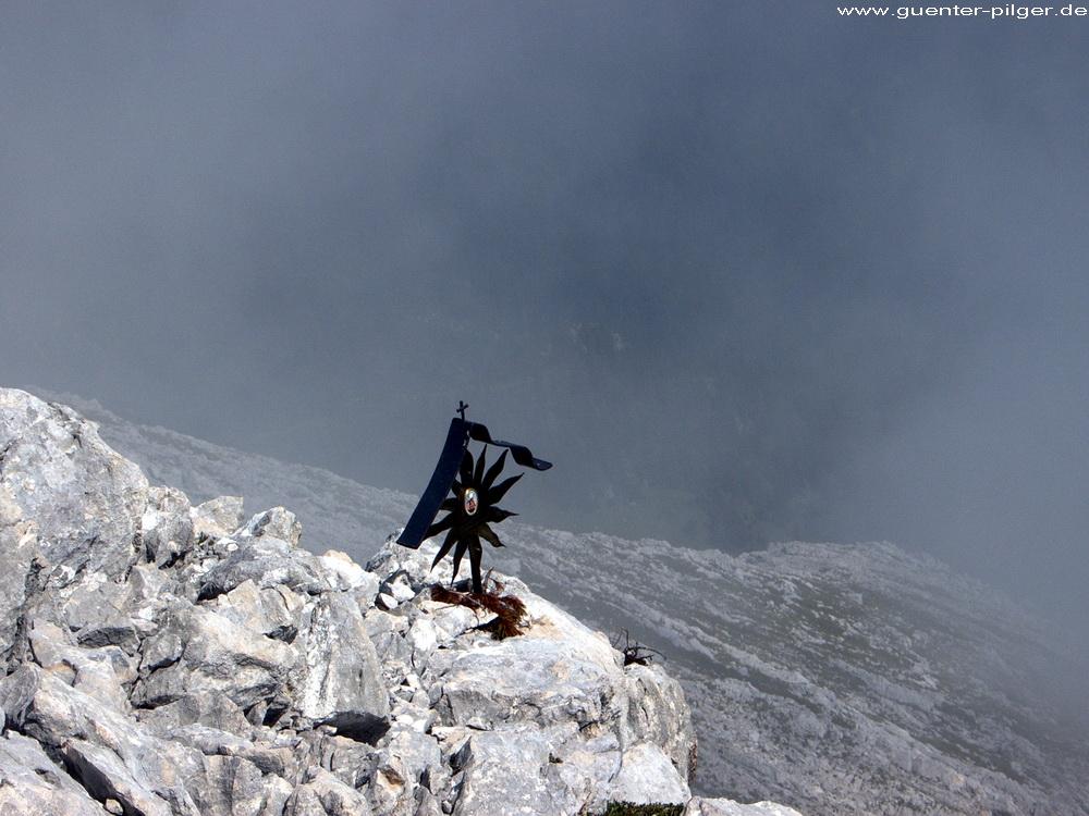 Marterl am Ostgrat der Alpspitze
