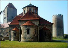 Marterturm, Dicker Heinrich und Burgkirche