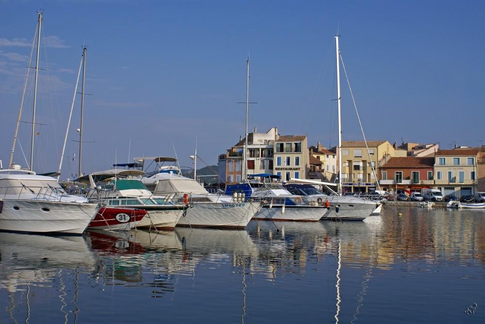 Martigues et son port de plaisance